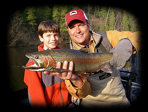 Kids R US, Michigan Fly Fishing Guide & Outfitter, Muskegon